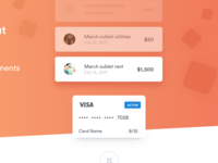 Payments landing page 💳