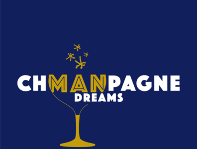 chMANpagne dreams design branding