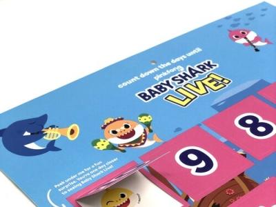 Baby Shark Live vip tour print design