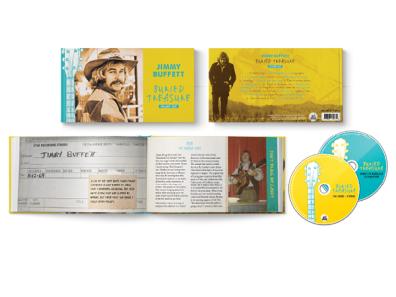 Jimmy Buffett album packaging print design