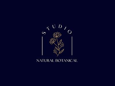 natural botamical logo botanical logo botanical beauty logo flat luxury brand typography logo design lettering icon design minimal logo branding