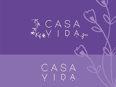 cosavida logo floral botanical logo botanical logo vector branding illustration vector logo logodesigner beauty logo typography design minimal logo branding