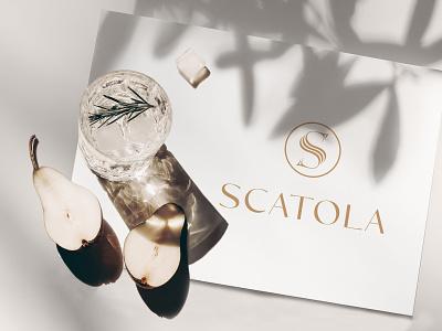 SCATOLA LOGO graphic designer graphic design logo designer fashion brand logo clothing brand logo logo design lettering typography icon design minimal logo branding