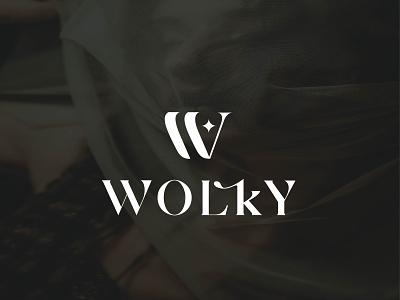 wolky fashion brand logo vector clean luxury logo clothing logo fashion logo design lettering typography icon design minimal logo branding