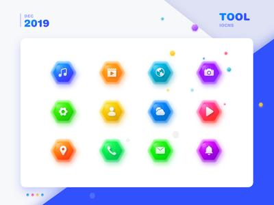 Tool icons design