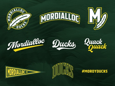 Mordialloc Ducks Graphics ducks sports sport design mordialloc baseball
