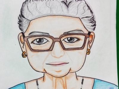 Vieja Ata hand drawn handmade crayons crayon animation art illustration illustrator