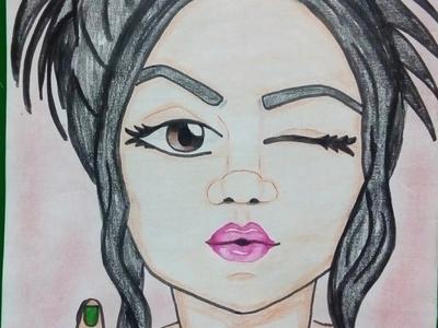 mi podri crayon hand drawn handmade crayons art illustration illustrator animation