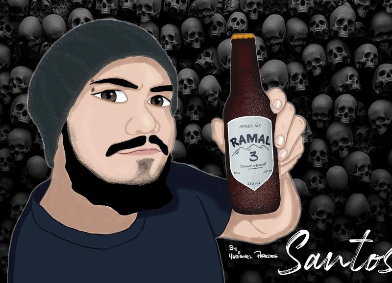 Santos branding photoshop design handmade hand drawn crayons illustrator illustration art animation