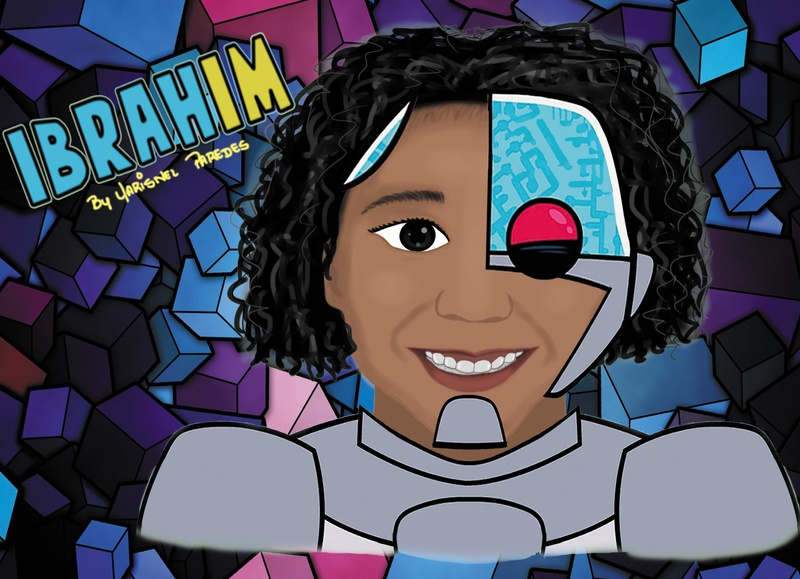 Ibrah crayons clip studio paint photoshop design handmade hand drawn illustrator illustration art animation