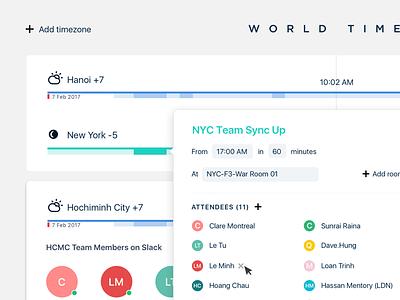World Timer Chrome extension extension chrome tool team timezone