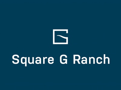 Square G Ranch Logo country simplistic one color longhorn logo longhorn ranch logo ranch herd cattle square g ranch mark logo