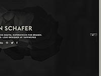 Steven Schafer Portfolio Redesign