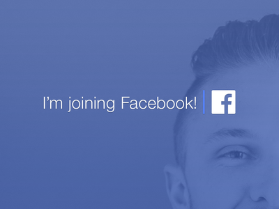 I'm Joining Facebook! product design facebook joining