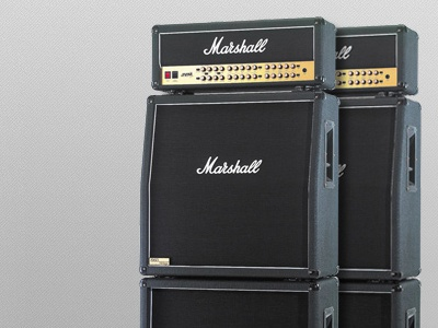 Marshall Amplification  dial marshall amp rebound dark rock button wide feature full attachment noise black navigation dropdown icon logo amplifier knob speaker