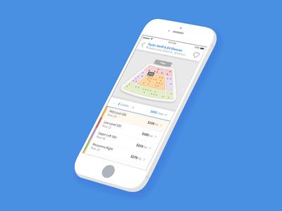 Mobile Venue Maps Concept