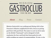 Misson Gastro