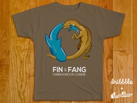 Fin & Fang for Dribbble Threadless Playoff