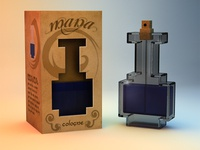 8-bit Perfume Package Design