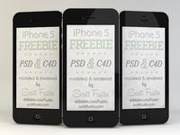 Freebie iPhone 5 in black