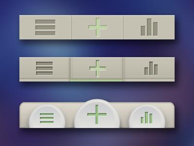 Tabbar iOS Design