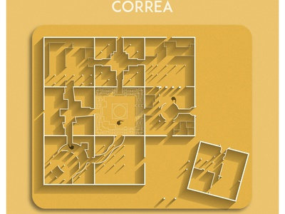 CORREA play india stone art illustration design architecture