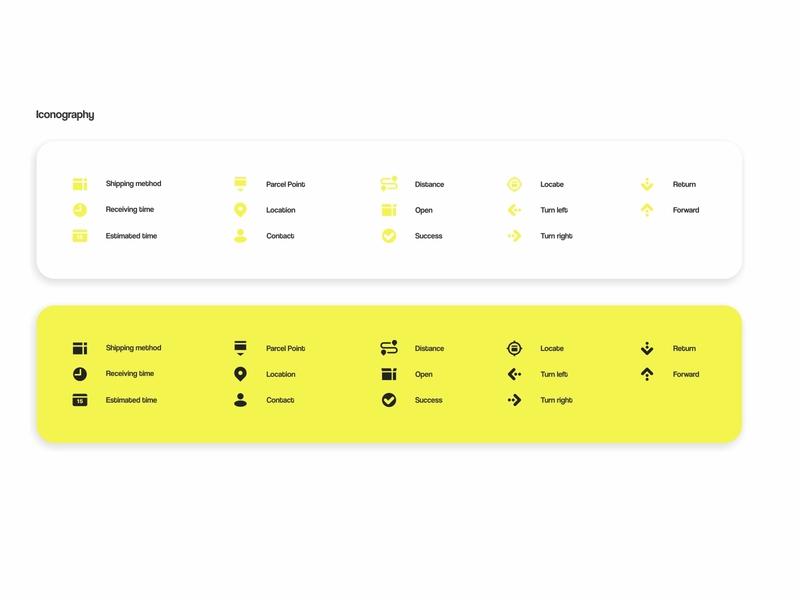 Package based app iconography iconography typogaphy vector ui design uiux ui design icon