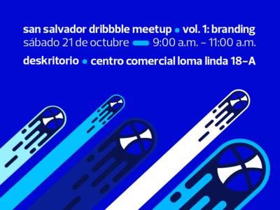 San Salvador Dribbble Meetup Vol. 1