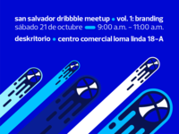 San Salvador Dribbble Meetup Vol. 1