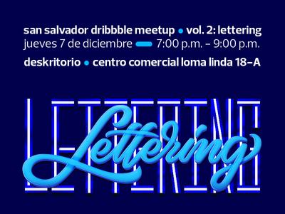 San Salvador Dribbble Meetup Vol. 2