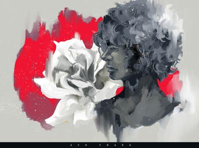 Rose design illustration