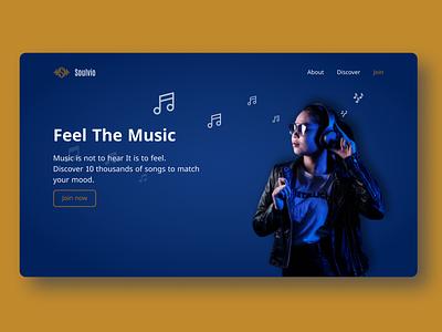 Soulvio figma design ui web web design