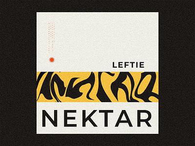 nektar * typograhy design symbol logo branding first illustration abstract texture print poster design type design lettering vector minimalism typography