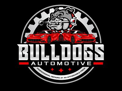 Automotive Logo speed logo motor logo graphic designer logo designer vector logo logo vintage logo batch logo dog logo bulldog logo bulldos logo car logo garage logo automotive logo