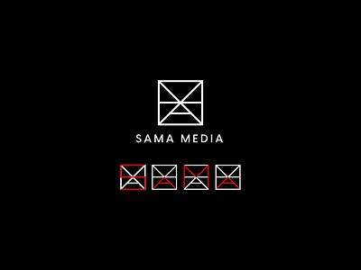 Sama Name logo logo name 3d vector typography illustrator design graphic design branding logo design logo sama logo dama logo sama name logo name logo