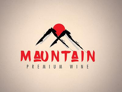 Mauntain / Mountain wine logo Design logo designer vodka logo whisky logo logo winery logo winery wine logo mountain logo mauntain logo