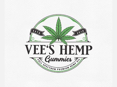Hemp, marijuana, cannabis, weed logo vector typography illustration illustrator design branding graphic design logo marijuana logo hemp logo cbd logo cannabis logo weed logo
