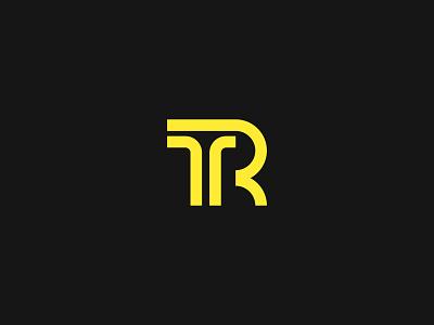 TR Monogram logodesign idendity design creative branding minimal logotype logo illustrator digital