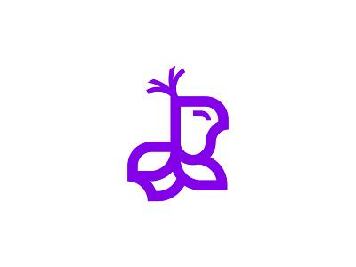 Gorgeous Bird flat design modern creative illustrator idendity branding minimal logodesign logotype logo