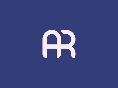 AR Monogram digital design branding logodesign vector illustrator idendity creative minimal typogaphy monogram logotype logo