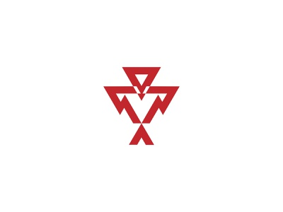 Ornamental Eagle digital illustrator idendity logodesign design creative branding minimal logotype logo eagle