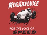 Megadeluxe 'race car'