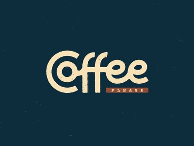 Coffee, please lettering manners please not decaf caffeine coffee