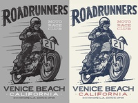 Roadrunners, color options