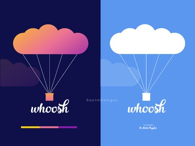 Hot Air Balloon Modern Logo | Creative Logo for Business logo designer identity brand identity branding whoosh air balloon customize corporate business logo logo type logo design logo