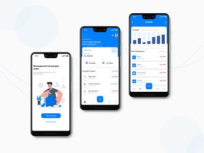 Money Management Apps icon indonesia illustration money app money management app management app design ui