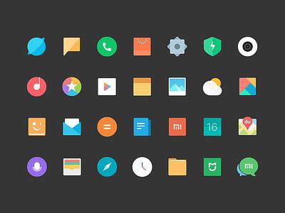 New Theme miui 9 icon theme new