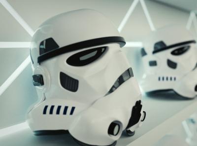 Stormtroopers ready for battle scene helmet cycles stormtrooper starwars blender 3d art 3d