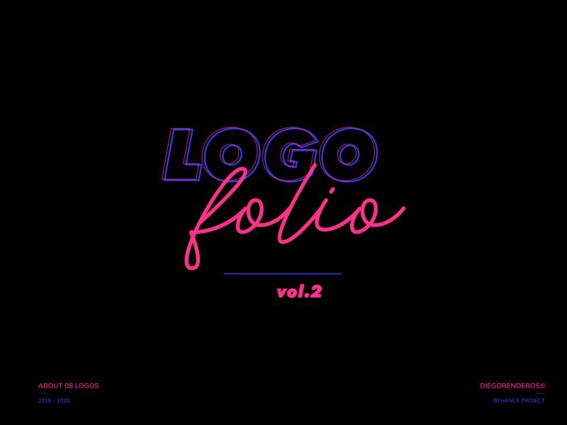 Logofolio 2019 - 2020 colors typeface branding graphic design design art logofolio icon vector typography logo