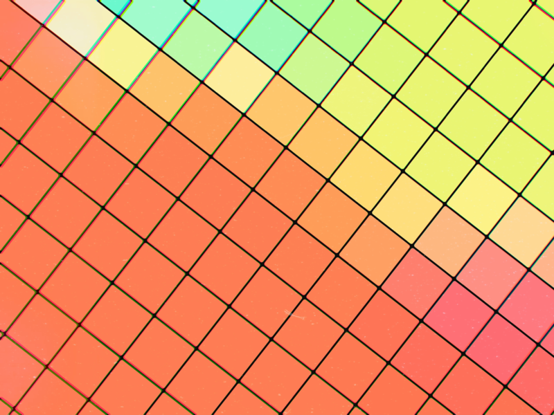 Grid Colors retro square box grid schedule green yellow pink orange red geometric color flat graphic shape pattern abstract art wallpaper design abstract